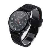 Luxury Military Pilot Army Outdoor Style Silicone Mens Wrist Watch