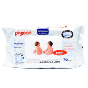 PIGEON Baby Wipes Moisturizer Cloths 70s - PR040301