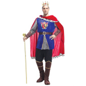 HOUSE OF COSTUMES Brilliant King M-0048 - Blue