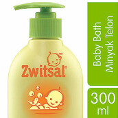 ZWITSAL Natural Baby Bath 2-in-1 with Minyak Telon 300ml