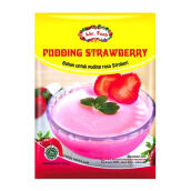MR. FOOD Tepung Puding Strawberry 137gr