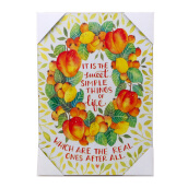 BLOOM & BLOSSOM Wall Poster Small 28 X 20Cm (Quotes#14)
