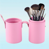 Empty Portable Makeup Cosmetic Storage Box Case Holder Brush Organizer