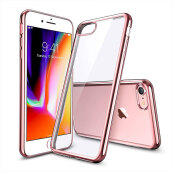 ESR Crystal Transparent Clear Flexible Soft Gel TPU Cover Shell for Apple 4.7