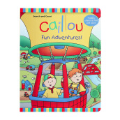 CHOUETTE Caillou Fun Adventures! 4 - 6 years