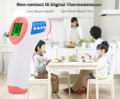 Non-contact Infrared Digital Forehead Temperature Measuring Gun Thermometer
