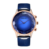 BAOGELA Women's Leather Strap Quartz Watch 1605