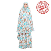 Mukena TATUIS Tiara 287 - Brown Tosca - Regular [One Size]
