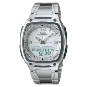 Casio Standard AW-81D-7AVDF - Classic - 10 Year Battery - Stainless Steel Band [AW-81D-7AVDF] Silver