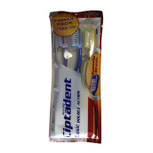 CIPTADENT Toothbrush Classic Double Action Medium 3pack