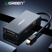 Ugreen Thunderbolt 1/2 Mini Displayport DP to HDMI VGA DVI Adapter Converter Cable