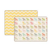 Coby Haus PE Wooden Pony Mat - Multicolor