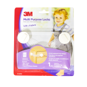 3M Child Pengaman Serba Guna Multi Purpose Locks SC-41 White Not Specified