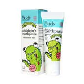 Buds Organic Oral Toothpaste With Xylitol Green Apple - 50 Ml