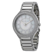 Michael Kors Kerry Pearl Dial Stainless Steel Bracelet Watch [MK3311]