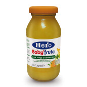 HERO BABY Import Premium Food Grape Orange Banana Juice 130 ml