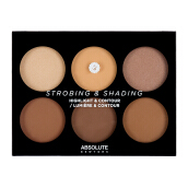 ABSOLUTE NEW YORK Strobing & Shading Highlight & Contour Tan To Deep