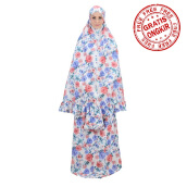 Mukena TATUIS Tiara 287 - Blue Peach - Regular [One Size]