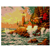 Lighthouse DIY Digital Oil Painting Art Wall Home Decoration Colormix