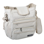 BABY SCOTS Tas Perlengkapan Bayi Mommy Bag Platinum - DIapers Bag MB45 WHITE