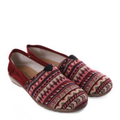 ANYOLORICH Ladies Flat Shoes B 70 - Maroon
