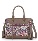 SAKROOTS Seni Satchel in Berry Brave Beauti