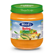 HERO BABY Import Premium Food Fruit Cocktail 115 gr