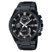 Casio Edifice EFR-542BK-1AVUDF Chronograph Black Stainless Steel [EFR-542BK-1AVUDF] Black