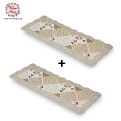 VINTAGE STORY Shabby Table Runner - 50X135 cm/ Trp9 (Bundle 2pcs)