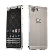 BlackBerry Keyone Case Luxury Glossy Business Metal Back Cover for BlackBerry Mercury