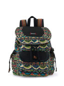 SAKROOTS Flap Backpack in Radiant One World