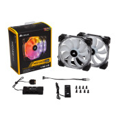 CORSAIR HD140 RGB Twin Pack with Controller ( CO-9050069-WW )