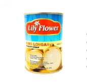 LILY Flowers King Longan in Heavy Syrup 20 Oz