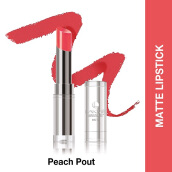 LAKME Absolute Reinvent Sculpt New Hi-Definition Matte Lipstick - Peach Pout