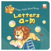 Dickens (Uk) Happy Teddy Board Books - Letters A-M