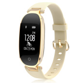 Kenny S3 Fashion Smart Band Girl Women Heart Rate Monitor Wristband Lady Female Fitness watch for iOS/Android