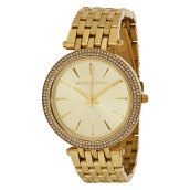 Michael Kors Darci Gold Dial Gold Stainless Steel Bracelet Watch [MK3191]