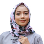 RAFHANAH Pictura Scarf - Violet [All Size]
