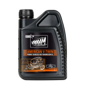 VROOAM-VROOAM A VTWIN PRIMARY AND TRANSMISSION OIL-BLACK Hitam