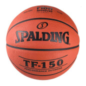 SPALDING SPA SP TF-150 Perform FIBA Rubber S7O - Brick [One Size] SPA83-572Z