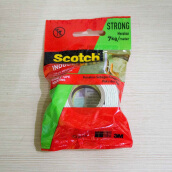 3M Scotch Mounting Double Tape Size 24 mm x 1 mm 3M 110 - 1 A White