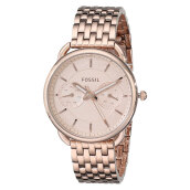 Fossil Tailor Multifunction Rose Tone Stainless Steel [ES3713] Rose Gold