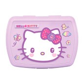 TECHNOPLAST Hello Kitty Fancy Revolution Relief Lunch Box