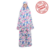 Mukena TATUIS Tiara 287 - Blue Pink - Regular [One Size]