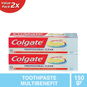 COLGATE Total Professional Clean Paste 2pcs x 150g