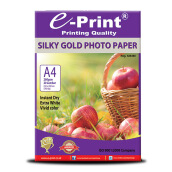 E-PRINT Silky Gold Photo Paper A4 260gsm 20 Sheets