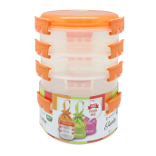 TECHNOPLAST Genio Round Sealware Stackable S2L2 Orange