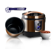 KIRIN Rice Cooker 2LT Simaspur Ceramic 3in1 KRC 390 - Brown