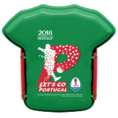 TECHNOPLAST Fifa Russia 2018 Lunch Box 800ml - Portugal [FG-SW830.FF18/48P]