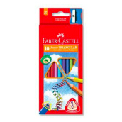 FABER-CASTELL Junior Triangular Colour 10 L 11653810